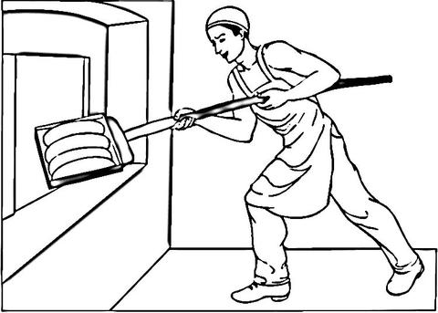 Gambar Mewarna Pembakar Roti