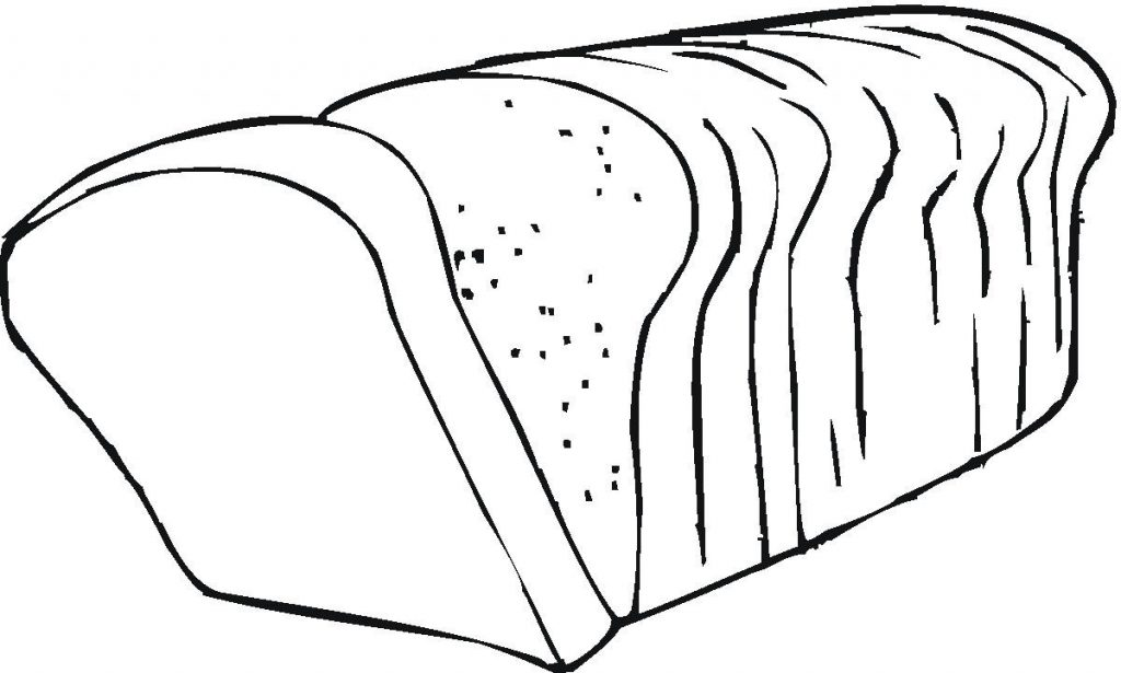 Gambar mewarna roti