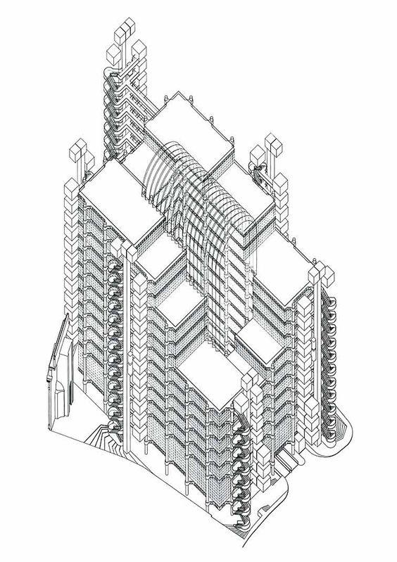 Gambar Mewarna Bangunan Lloyds