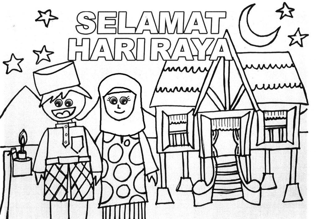 Poster Mewarna Hari Raya