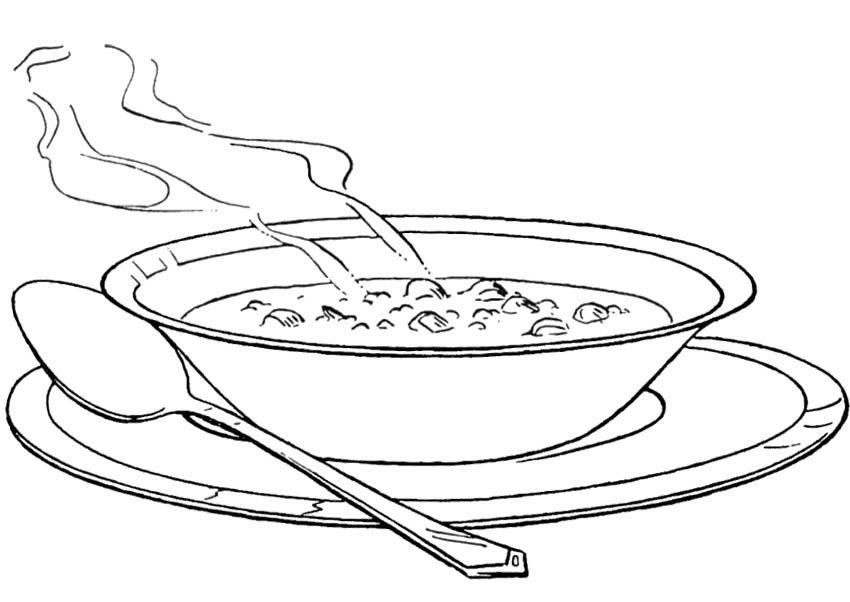 Gambar Mewarna Sup
