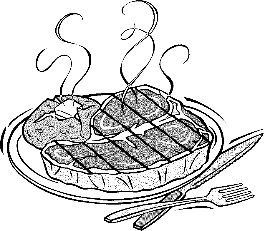 Steak-Colouring-Pages