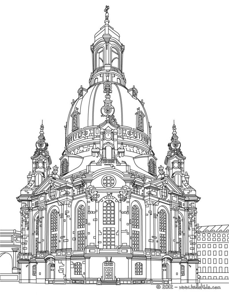 Gambar Mewarna cathedral of cologne