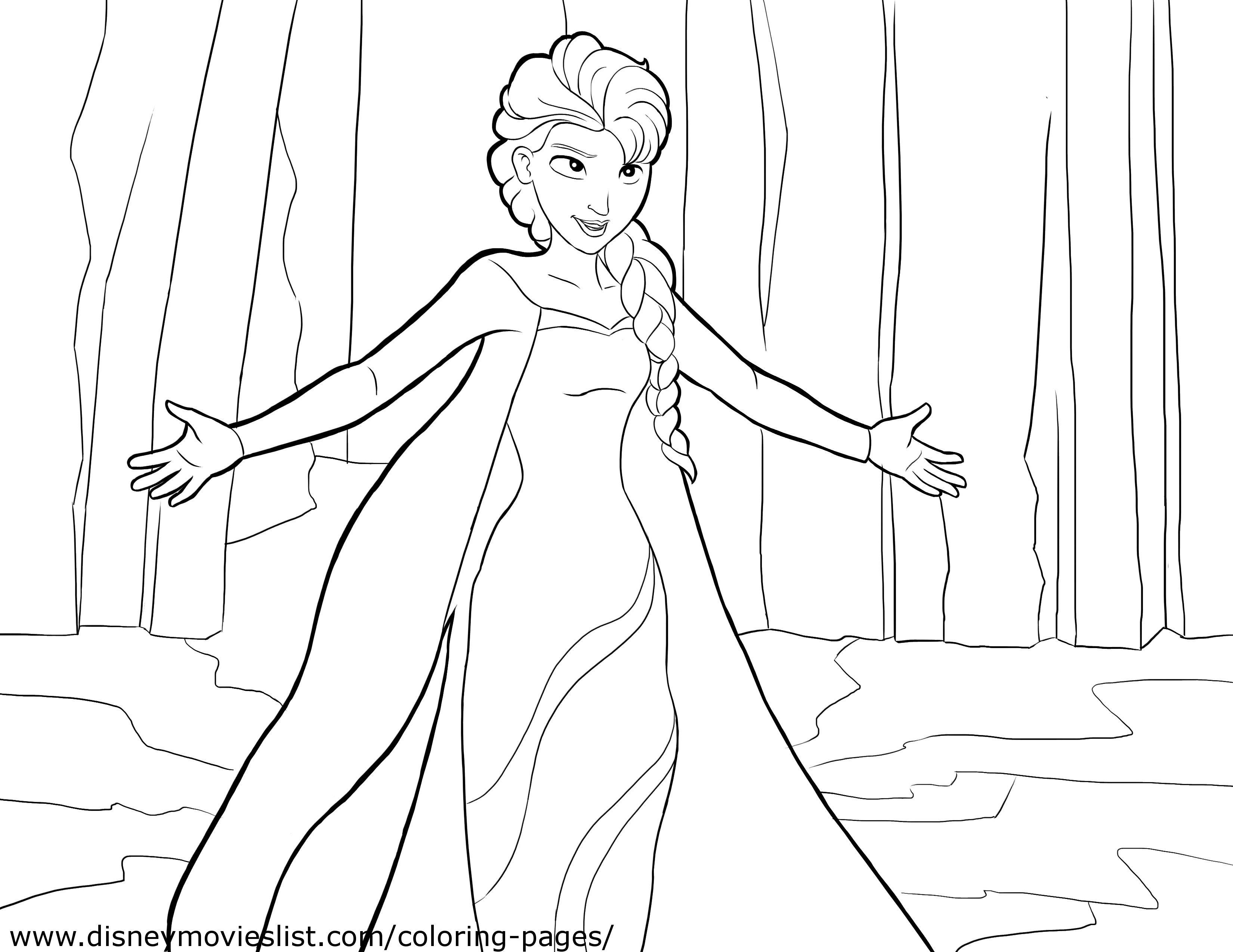 Koleksi Gambar Untuk Mewarna Frozen Dengan Aksi Menarik