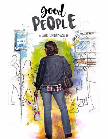 american stage theatre company good people poster art