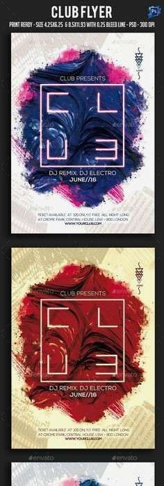 club flyer template luxury poster templates 0d wallpapers 46 awesome