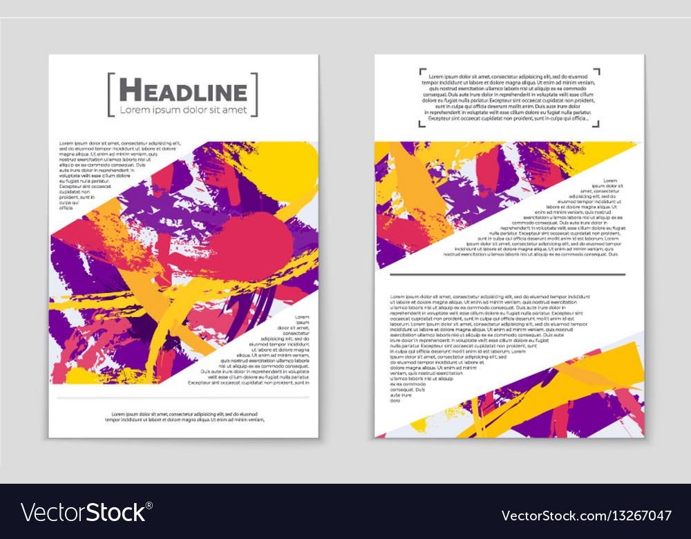 Background Poster Abstrak Hebat Abstract Layout Background Set for Art Royalty Free Vector