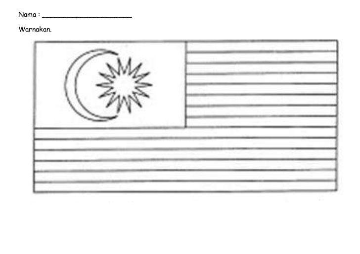 Muat Turun Segera Himpunan Contoh Bendera Malaysia Untuk Mewarna Yang Terbaik Dan Boleh Di Dapati Dengan Segera Gambar Mewarna