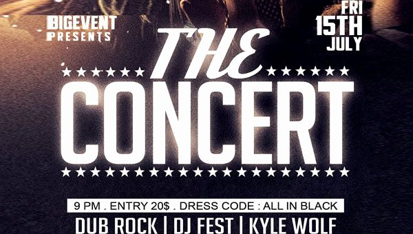 concert flyers template free lovely 58 concert flyer templates free psd vector png eps ai downloads