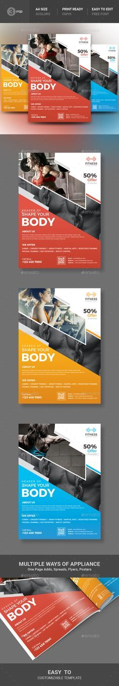 fitness flyer by artbeta file information this file open is programs cs3 cs4