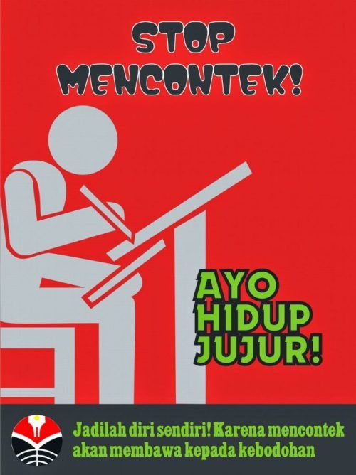contoh gambar poster pendidikan gambar poster