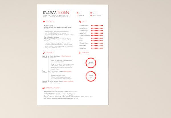 Contoh Poster Seminar Meletup Cv Resume Template Free On Behance