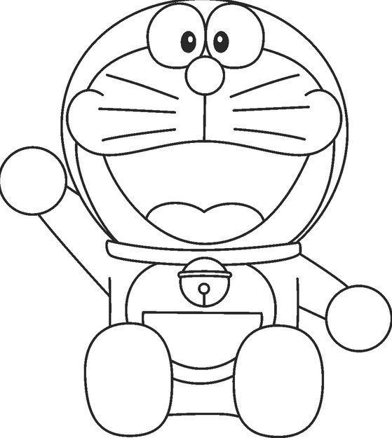 Gambar Barbie Untuk Mewarna Menarik Mewarnai Gambar Doraemon Yang Unik Annisa Mpp Doraemon Coloring