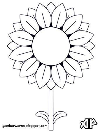 Soal Uraian Usbn Sd 2018 Mewarnai Bunga Matahari Kartun