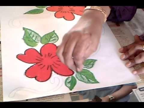 Gambar Bunga Raya Mewarna Hebat Pend Seni Visual Resis Youtube