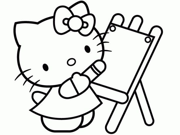 download kumpulan gambar hello kitty untuk mewarnai with original resolution 612x459 px size 96 kb click here