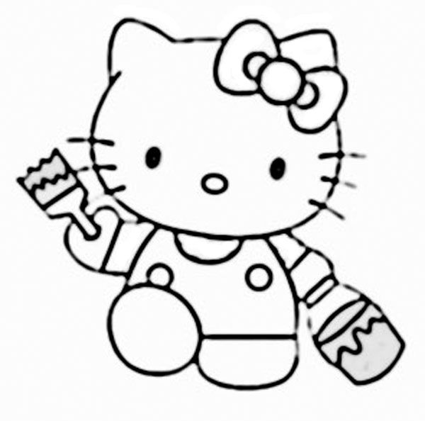 gambar hello kitty clipart best