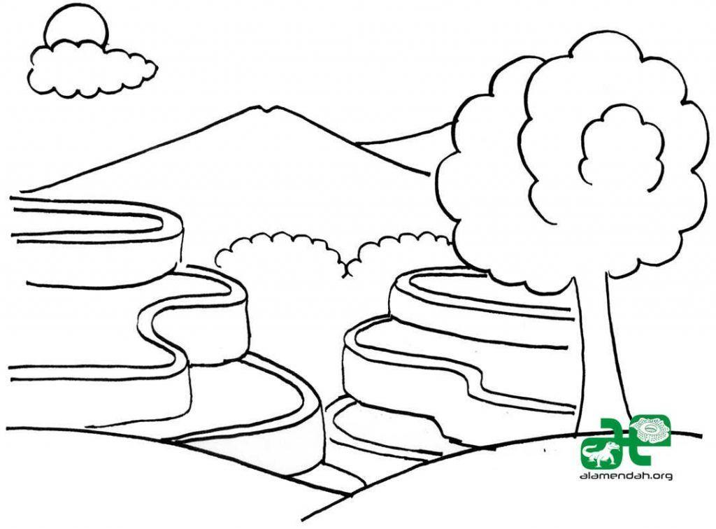 Dapatkan Himpunan Contoh Gambar Kartun Comel Untuk Mewarna Yang