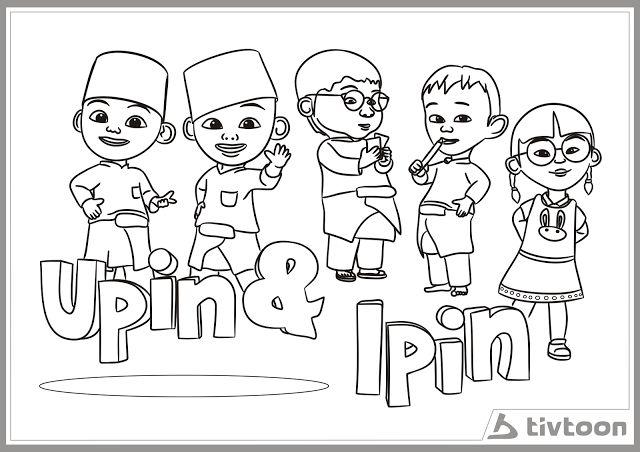 Download Himpunan Contoh Gambar Kartun Upin Ipin Untuk Mewarna Yang Terhebat Dan Boleh Di Lihat Dengan Mudah Gambar Mewarna
