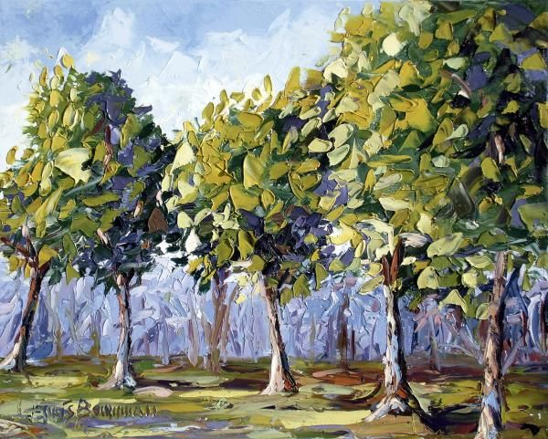 Gambar Lukisan Mewarna Baik Pendidikan Seni Visual Melukis Dan Mewarna Pokok