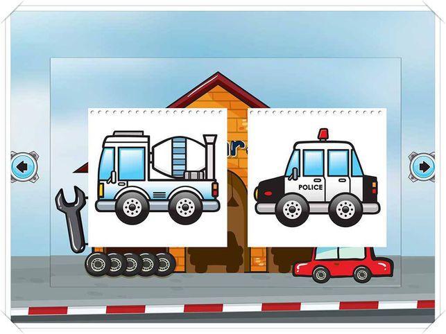 Gambar Lukisan Mewarna Menarik Kereta Lukisan Mewarna Dan Permainan Lukisan Untuk Bayi atau Kanak