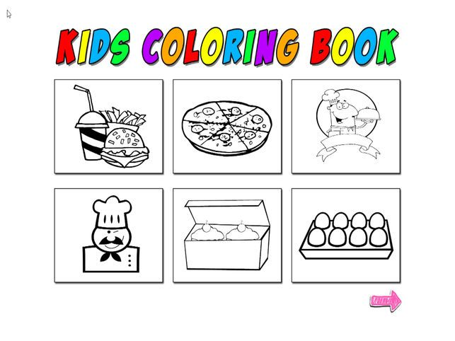 Jom Download Himpunan Contoh Gambar Makanan Untuk Mewarna Yang