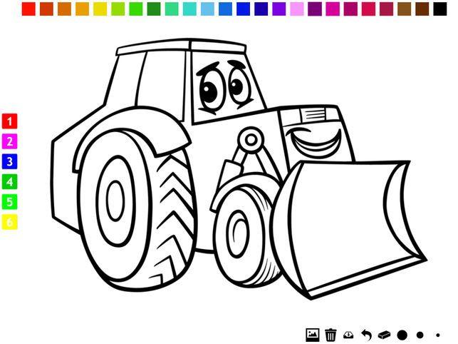 buku mewarna kereta untuk kanak kanak belajar untuk cat kenderaan di app store