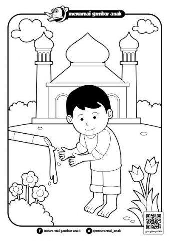 Download Cepat Himpunan Contoh Gambar Mewarna Ana Muslim Yang Menarik Dan Boleh Di Cetakkan Dengan Cepat Gambar Mewarna