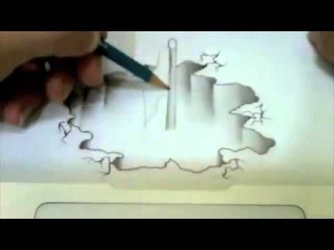 Gambar Mewarna Ayah Bernilai Gambar 3d Dengan Pensil Youtube