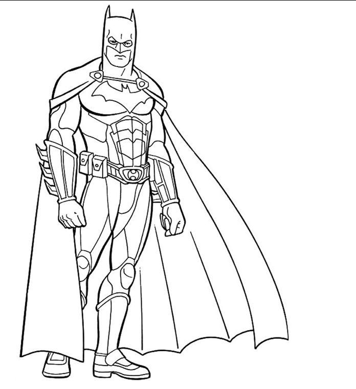 Jom Download Pelbagai Contoh Gambar Mewarna Batman Yang Terbaik Dan