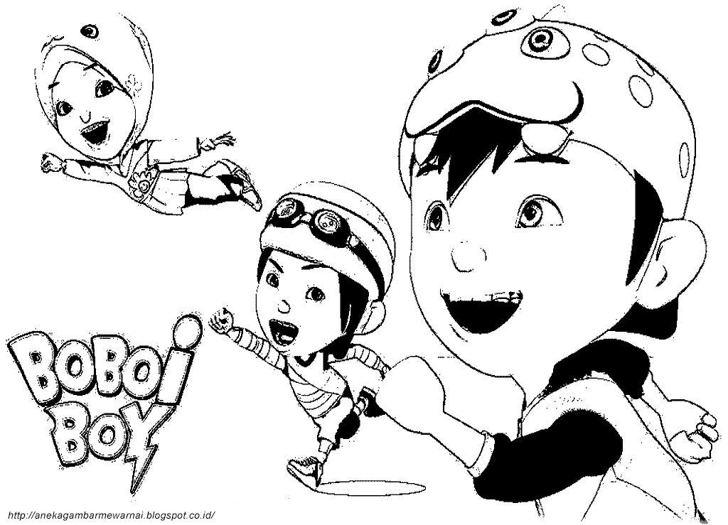 Gambar Sketsa Kartun Boboiboy Wwwimagenesmicom