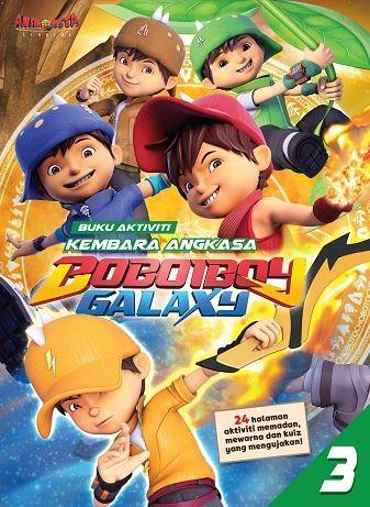 Gambar Mewarna Boboiboy the Movie Berguna Boboiboy Buku Aktiviti Kembara Angkasa Boboiboy Galaxy 3 Portal Pts