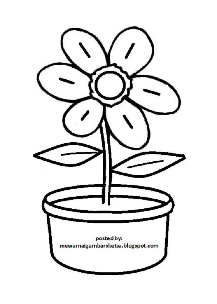 Download Bermacam Contoh Gambar Mewarna Bunga Bungaan Yang Berguna Dan Boleh Di Download Dengan Mudah Gambar Mewarna
