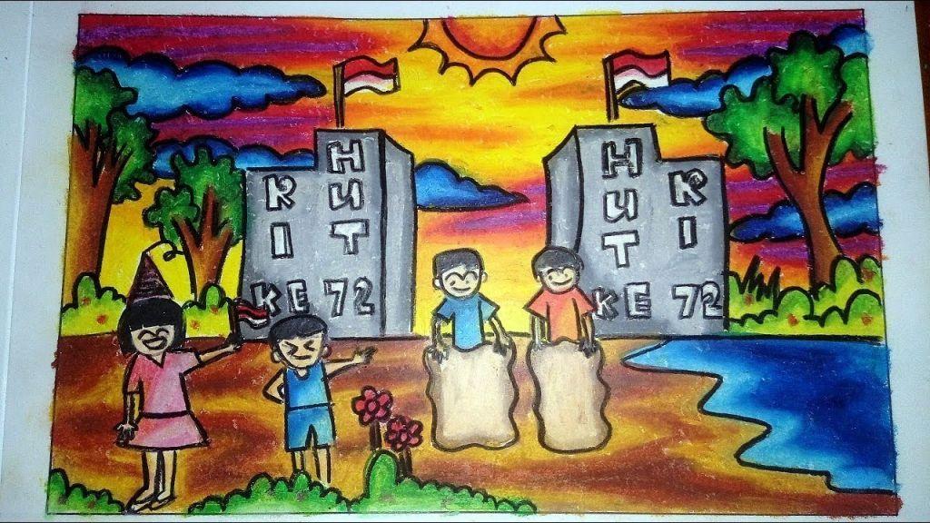 Dapatkan Himpunan Contoh Gambar Mewarna Dengan Crayon Yang Menarik