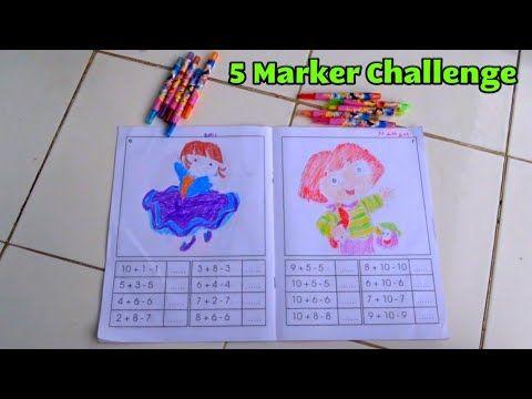 Gambar Mewarna Dora Terhebat 5 Marker Challenge D Mewarnai Dora the Explorer D Coloring Picture