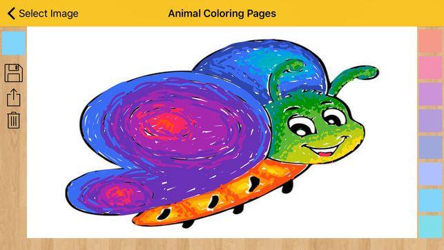 Gambar Mewarna Haiwan Di Hutan Terbaik Halaman Pewarna Haiwan Buku Mewarna Di App Store
