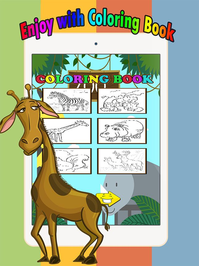 Gambar Mewarna Haiwan Di Hutan Terhebat Preschool Coloring Book Permainan Percuma Untuk Kanak Kanak Berumur