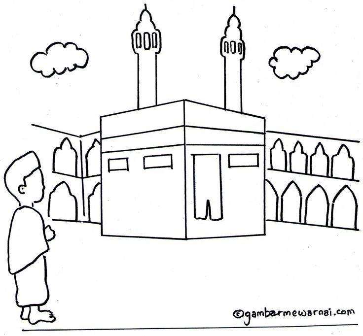 Link Download Pelbagai Contoh Gambar Mewarna Islam Yang Power Dan