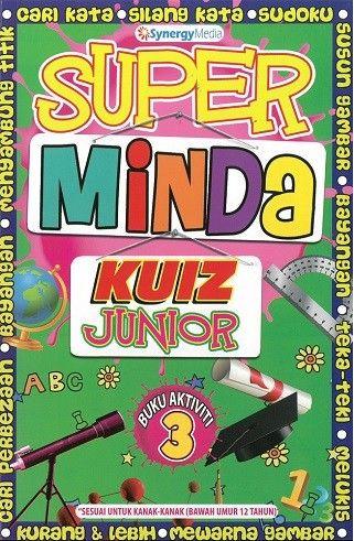 Gambar Mewarna Kanak2 Bernilai Super Minda Junior Buku Aktiviti 3 Kanak Kanak Malay Books