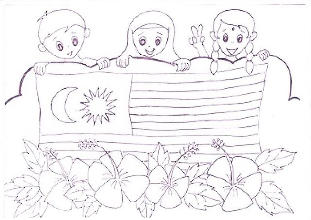 gambar contoh poster hari kemerdekaan