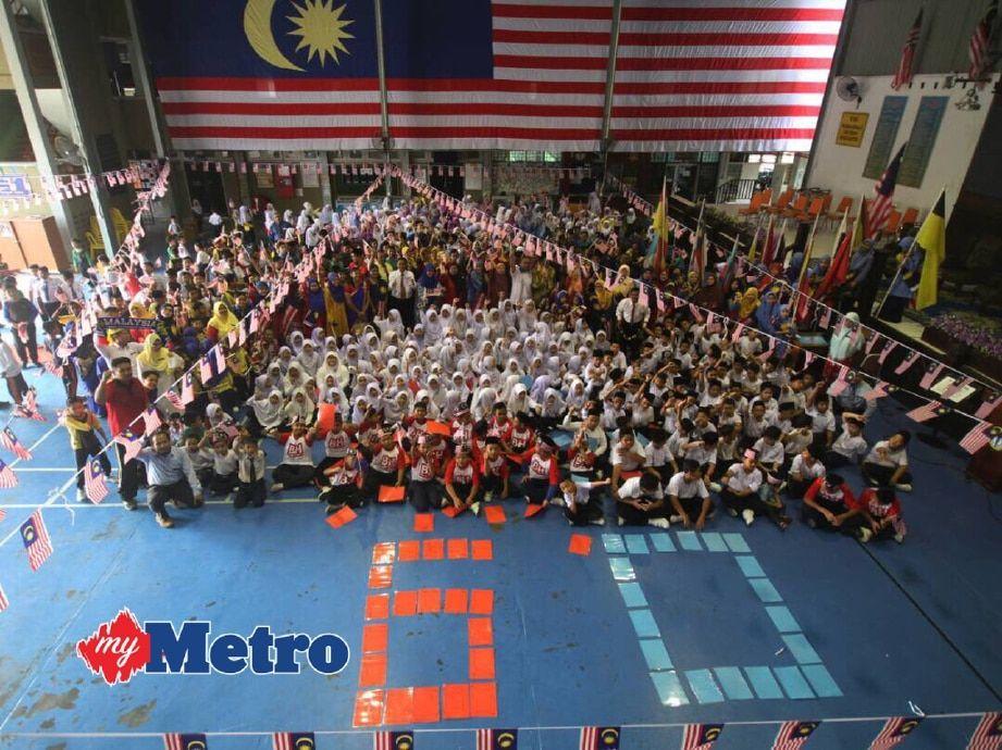 Gambar Mewarna Kemerdekaan Malaysia Terhebat Besarnya Bendera Harian Metro