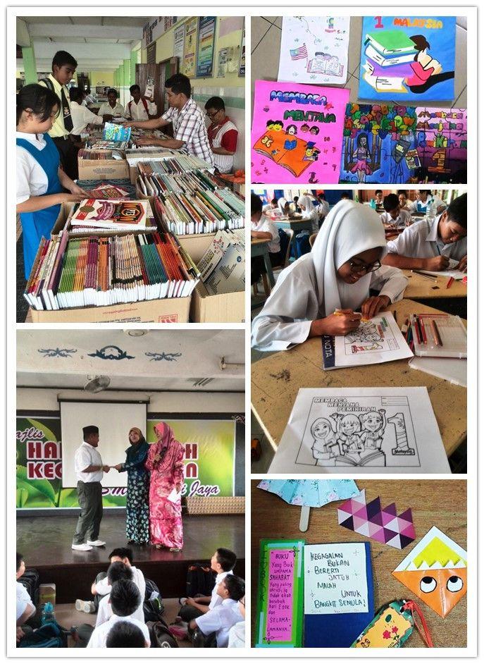 Gambar Mewarna Km1m Meletup Program Kem Membaca 4 6 April 2016 Laman Rasmi Smk Damai Jaya