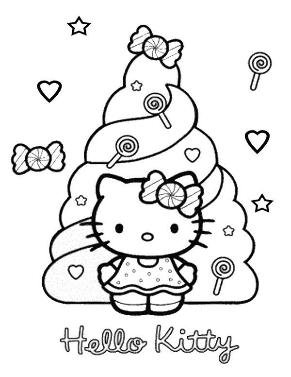 Gambar Mewarna Lady Bird Hebat Hello Kitty Coloring Pages Candy Coloring Kids Pinterest Hello