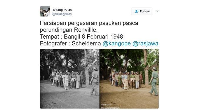 Gambar Mewarna Musim Luruh Menarik sosok Polisi Di Balik Akun Twitter Pewarna Foto Foto Sejarah Tekno