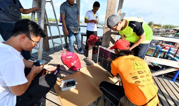 Gambar Mewarna Olahraga Penting Ump Sumbang Lampu solar Di Thailand Pendidikan Berita Harian