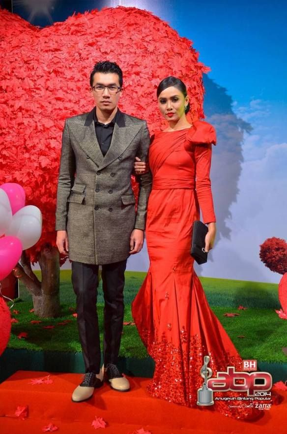 127 gambar lagi gambar selebriti di sekitar karpet merah abpbh 2014