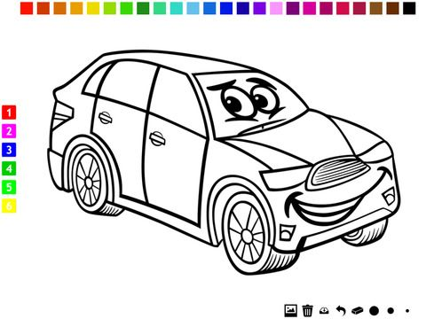 Gambar Mewarna Pizza Bermanfaat A Cars Coloring Book for Boys Learn to Color Pictures Of Vehicles