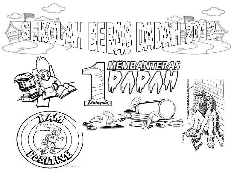 poster mewarna minggu anti dadah 2011 skpi