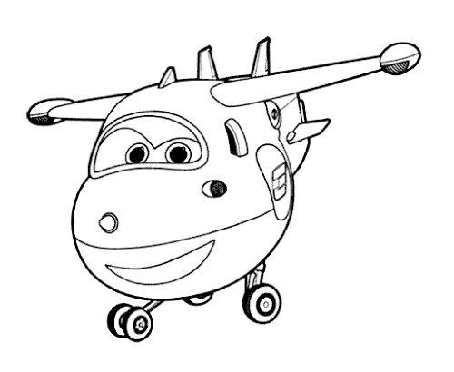Muat Turun Himpunan Contoh Gambar Mewarna Super Wings Yang