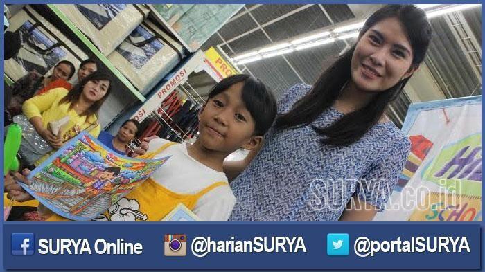 Gambar Mewarna Susu Power 250 Anak Ikuti Lomba Menggambar Hilo Competition Surya